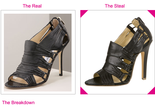 Steal the Real - Jimmy Choo Snakeskin Heels