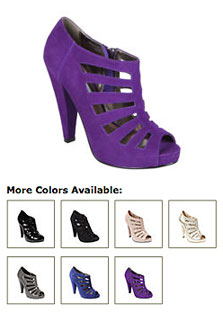 Platform Cut-Out Pumps - Get The Look For Less