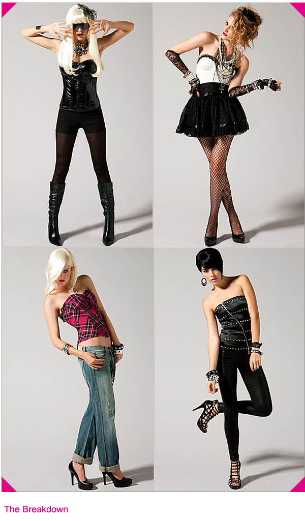 Halloween Rockstar.Halloween Rock Star Fashion Icons The Looks For Less